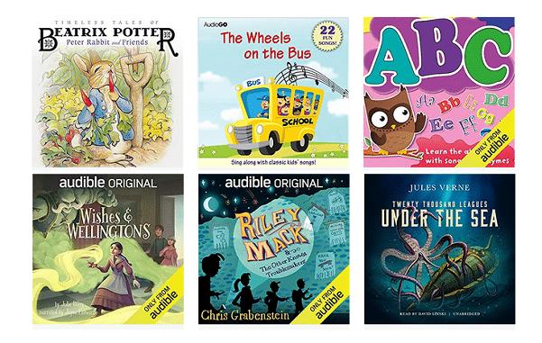 Audible Stories: Free Audiobooks for Kids | blogger.com