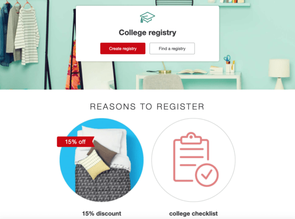 New Target 15% Off Coupon for College Students - My DFW Mommy