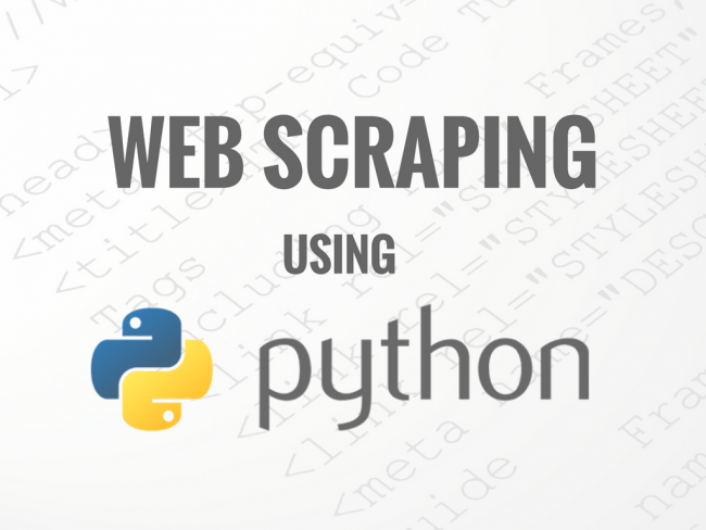 Python Web Scraping Script Sample