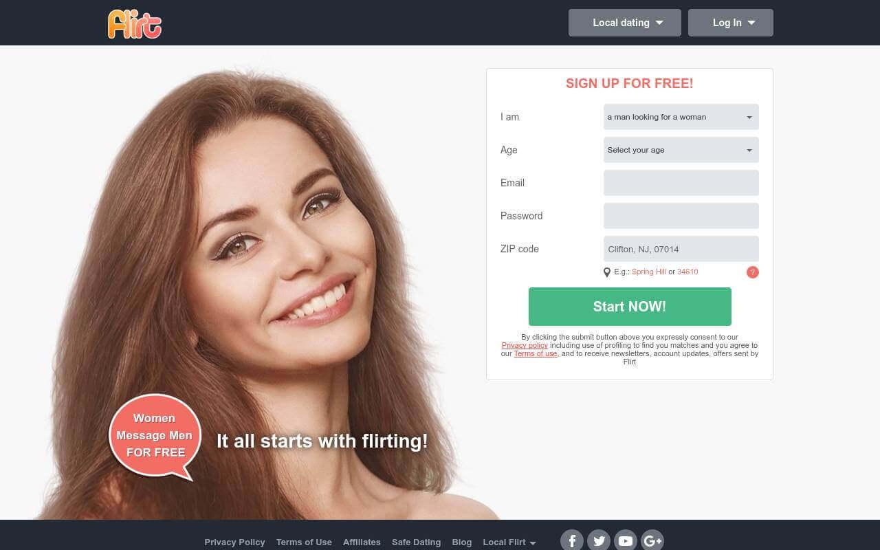 flirt.com dating review