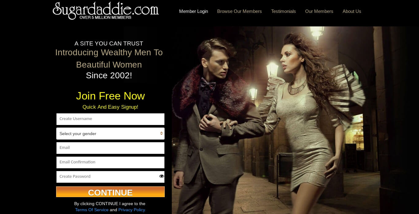 sugardaddie.com sugar daddy dating site review
