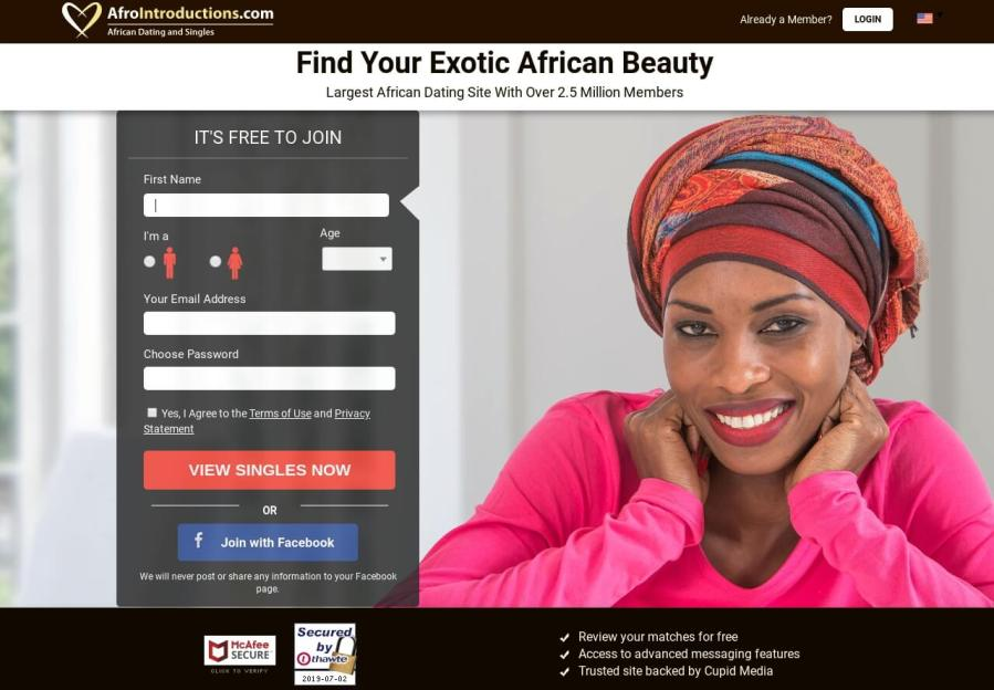afrointroductions.com dating site review