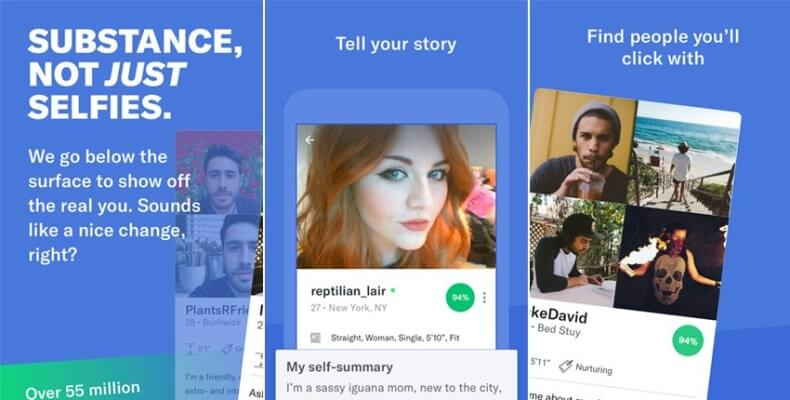 OkCupid Dating App Mobile