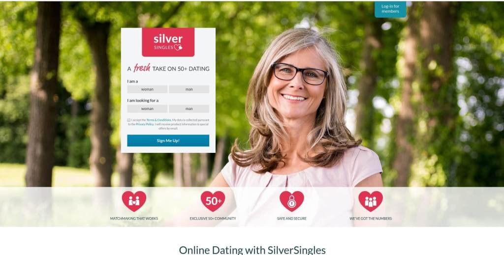 silver singles dating site review uk