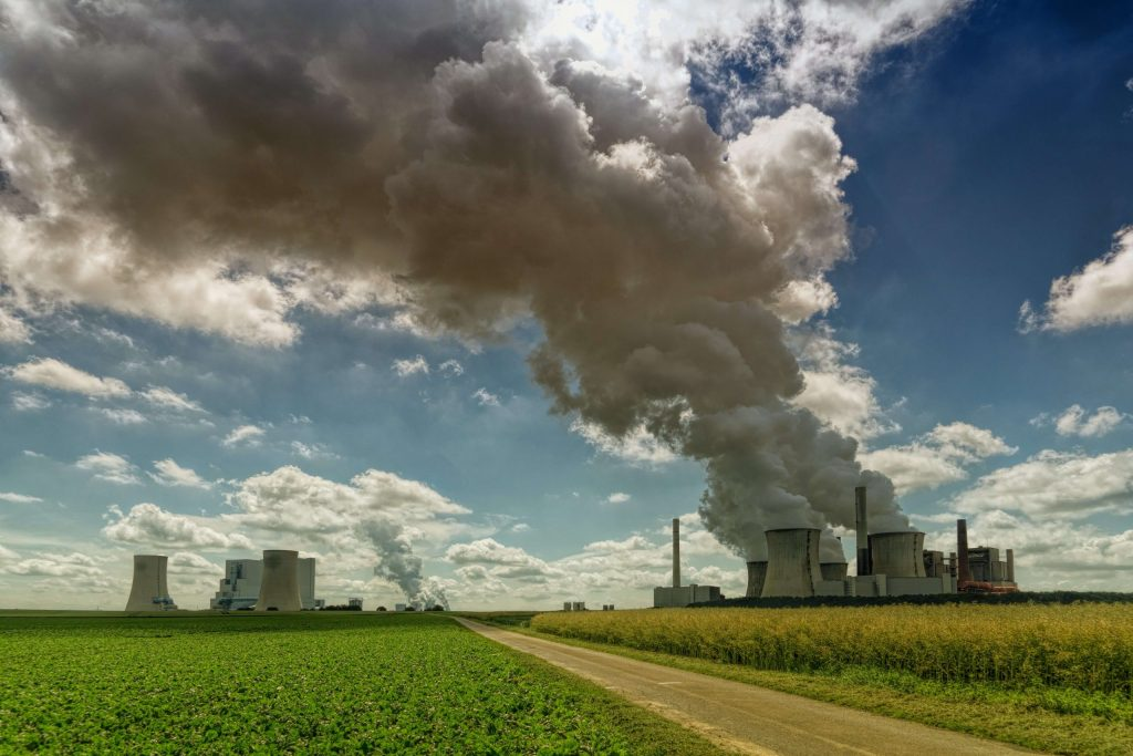 pollution gas