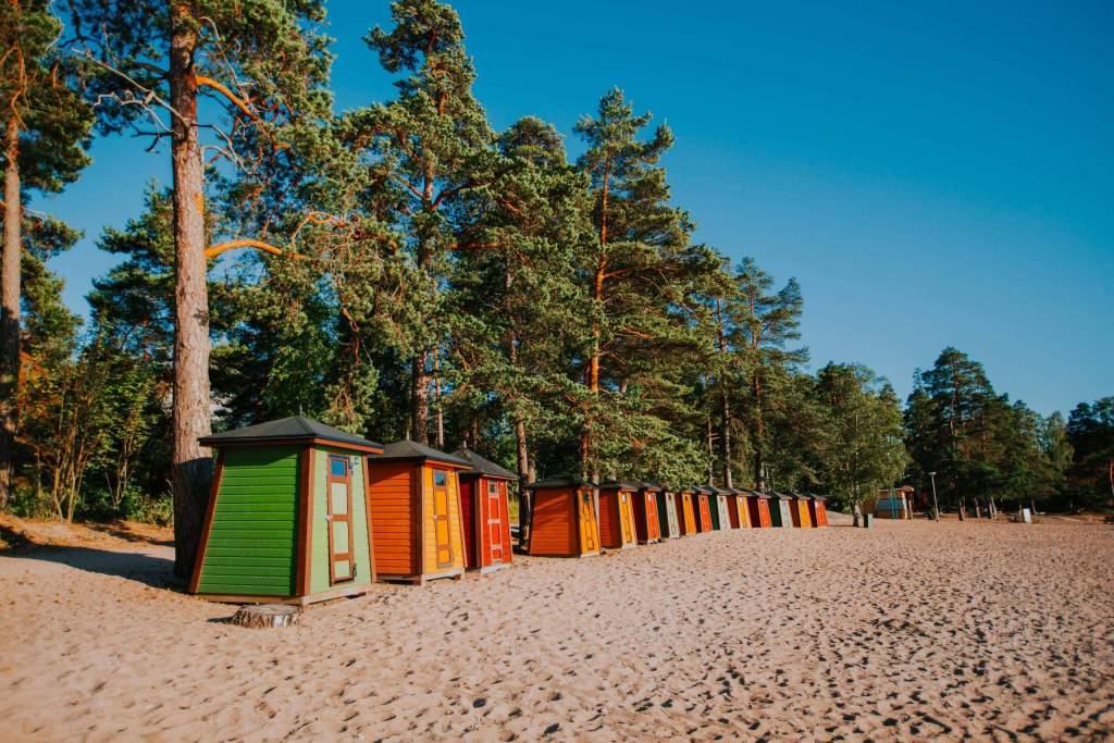 Pihlajasaari Beach, Helskini, Finland