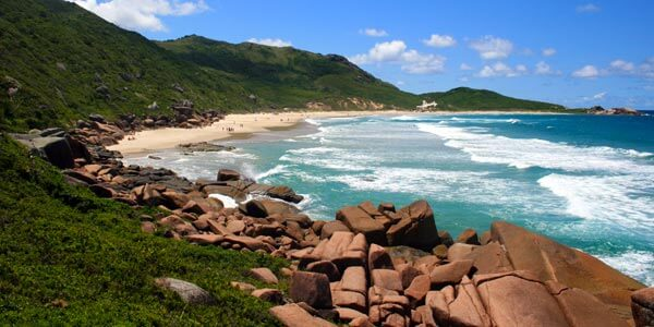 Praia Galheta, Nude Beach, Brazil