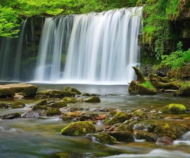 Sgwd Gwladys, Lady Falls, Wales, UK