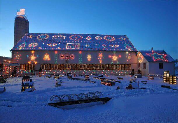 bernville pa koziars christmas village barn