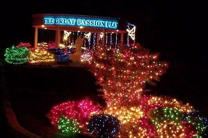 eureka springs arkansas christmas lights