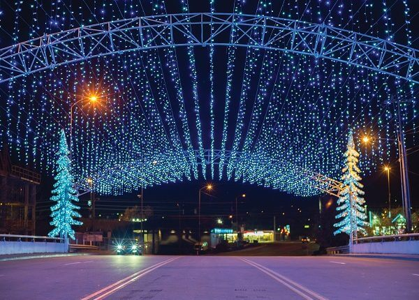 pigeon forge tennessee winterfest