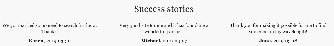 telegraph dating success stories