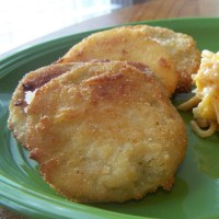 Fried Green Tomatoes (some fried squash thrown in there too)