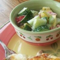 Aunt Louise's Cucumber Salad