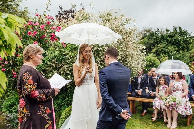 wedding celebration with Dinah Liversidge the Myddfai Celebrant