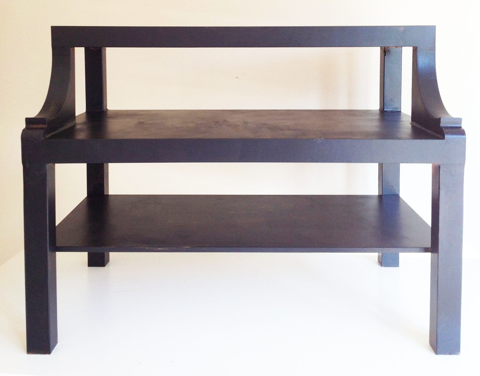 ikea lack hack from coffee table to the perfect bedside table once again my dear irene. Black Bedroom Furniture Sets. Home Design Ideas