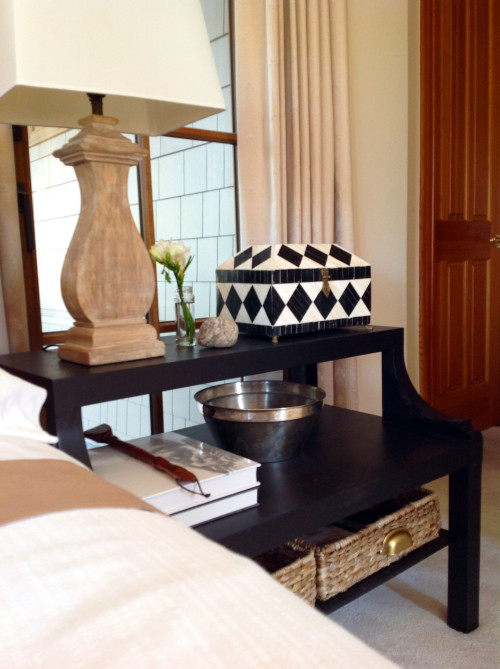 My Bedside Table: From Coffee Table To The Perfect Bedside
