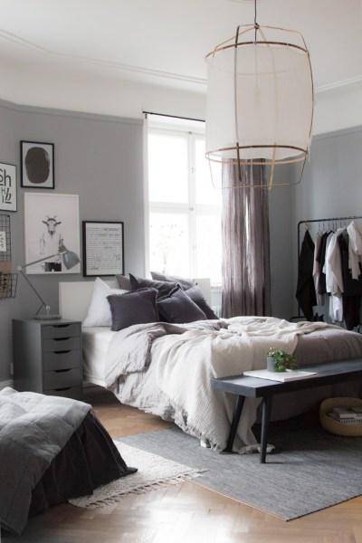 scandinavian bedroom design grey It's Time to Talk About Ikea | Dear Sabrina | Stockholm Lifestyle Blog