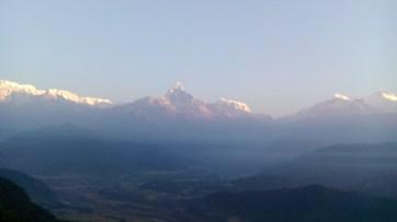 Sunrise around 6am @ Sarangkot View Point