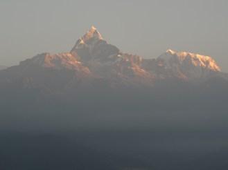 "Machhapuchchhare ""Fishtail"" Mountain, Pokhara Nepal / 2015"