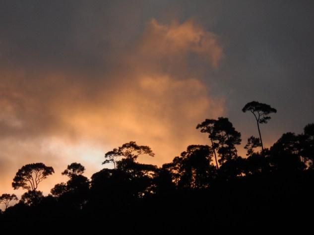 Sunset at Shivaopuri