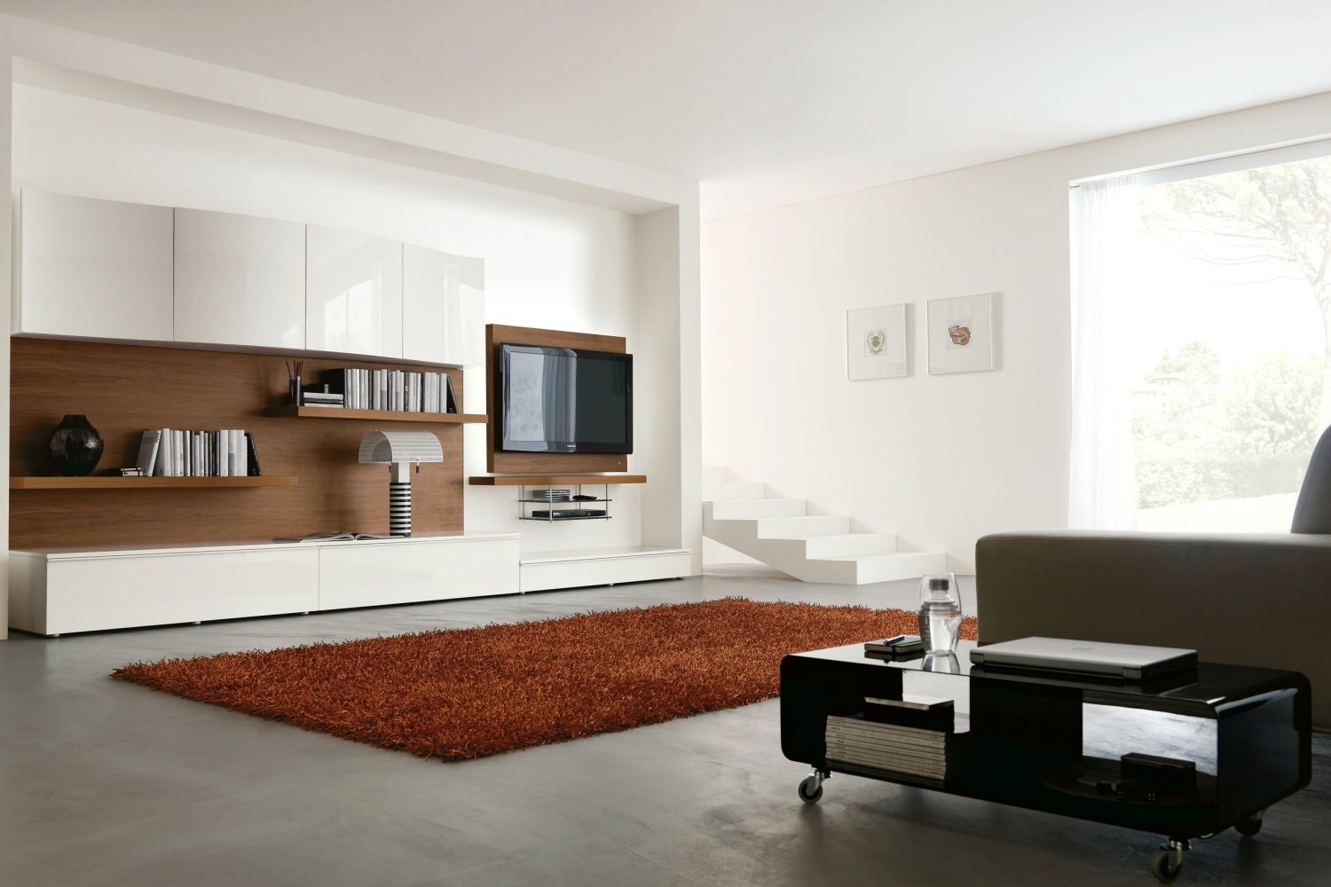 Living Room Ideas With Flat Screen Tv On Wall