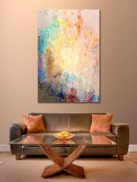 Massive Abstract Canvas Prints Modern Art For Home
