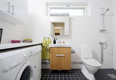 Bathroom Laundry Room Combinations