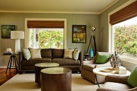 Yellowish Color Schemes for Living Room | My Decorative