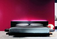Dcor of Bedroom in Red | My Decorative