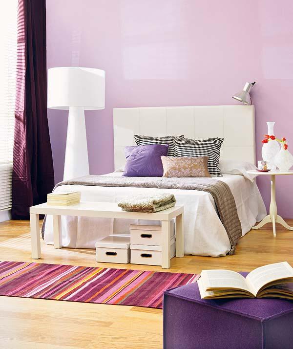 Bedroom D 233 Cor In Purple My Decorative