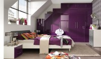 Bedroom Dcor in Purple   My Decorative