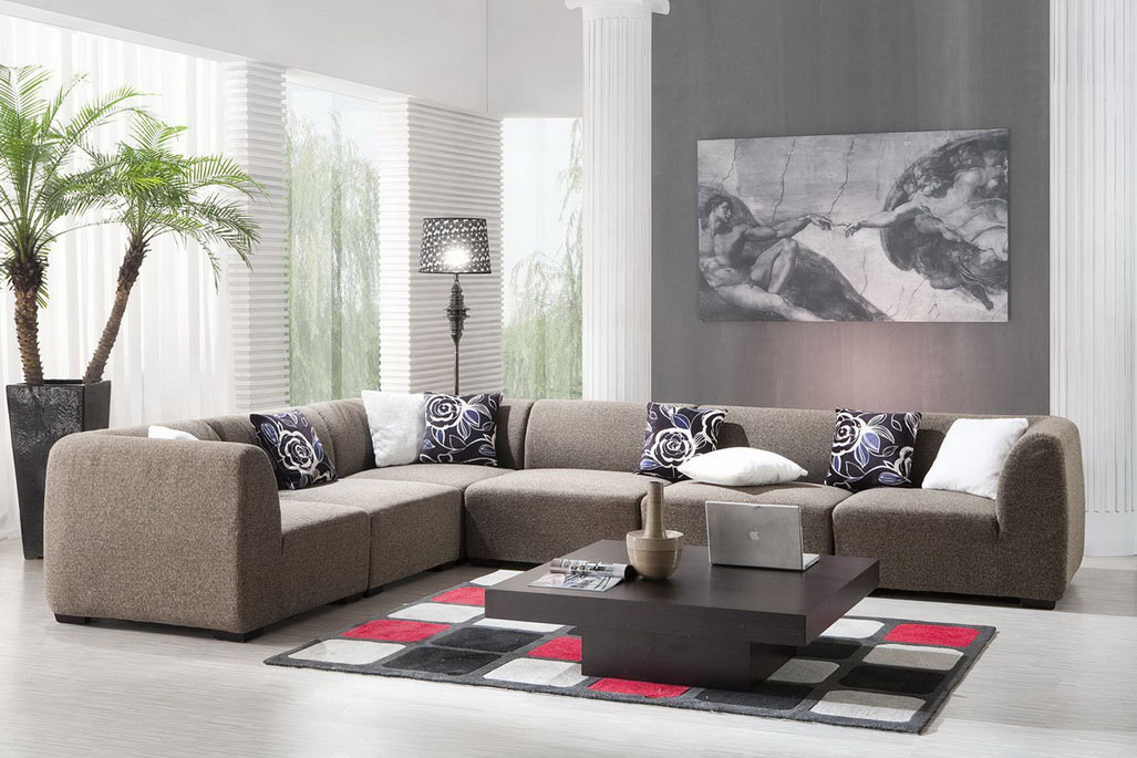 Contemporary Living Room Dcor Pictures  My Decorative