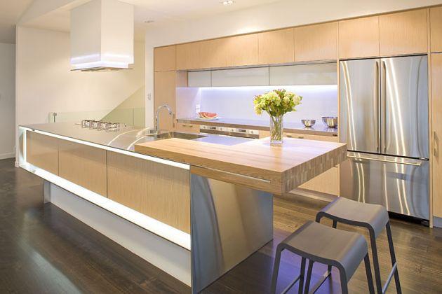 Modern Kitchen Island Design Ideas Beautiful Kitchen Island Lighting For Contemporary Style My Decorative