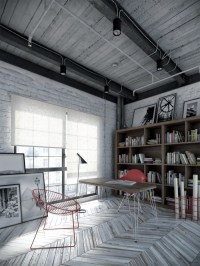 Home Ideas - Modern Home Design: Industrial Interior Design