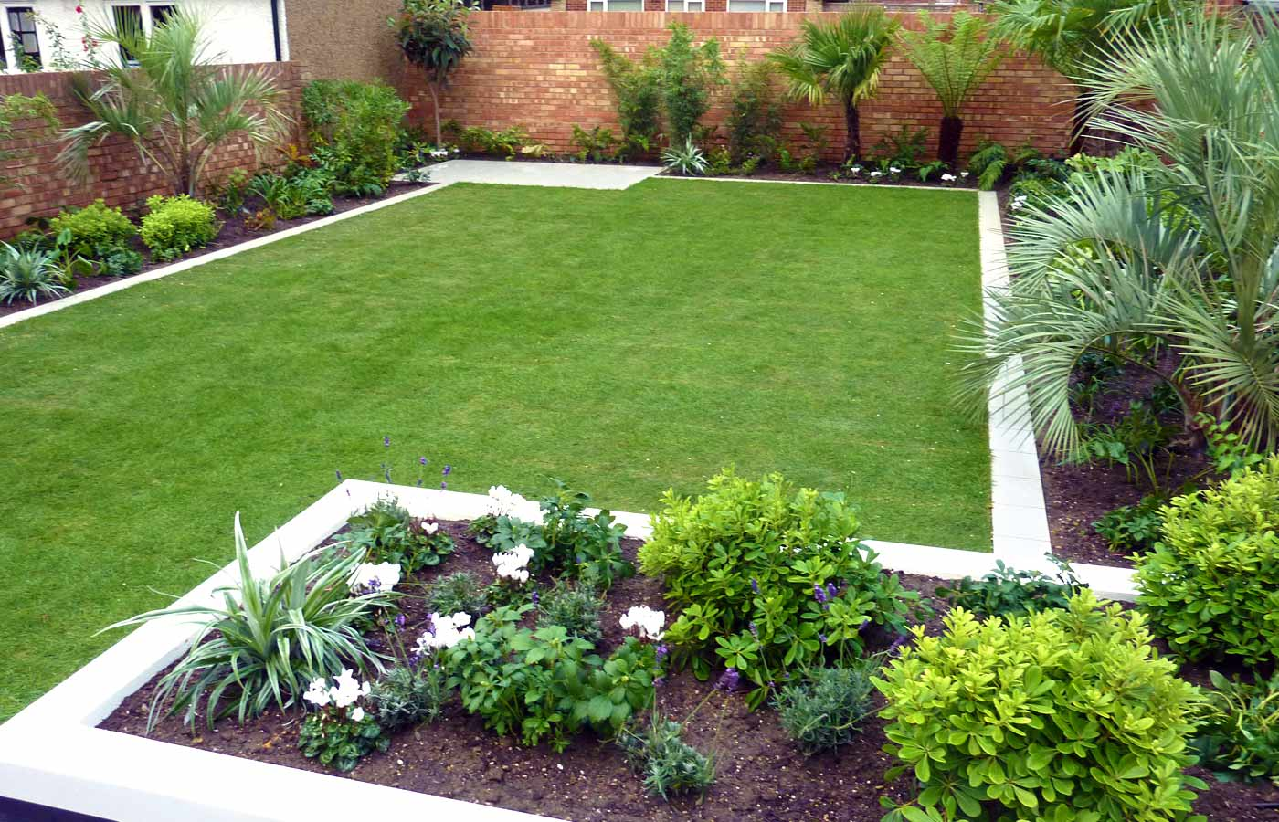 Beautiful Simple Home Garden Design Beautiful Homes Design Small