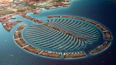 Man Made Islands of Dubai   My Decorative