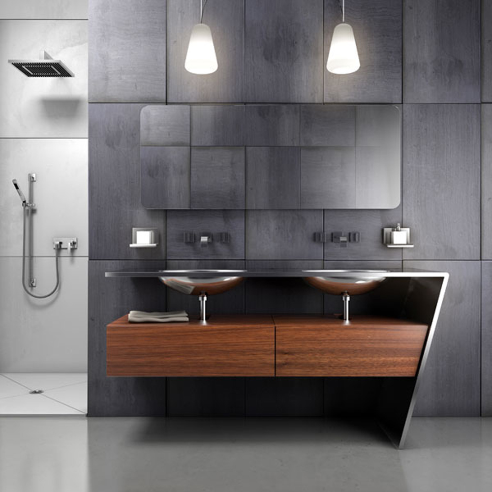 Modern Small Bathroom Modern Modern Small Bathroom Design With Contemporary Vanity And