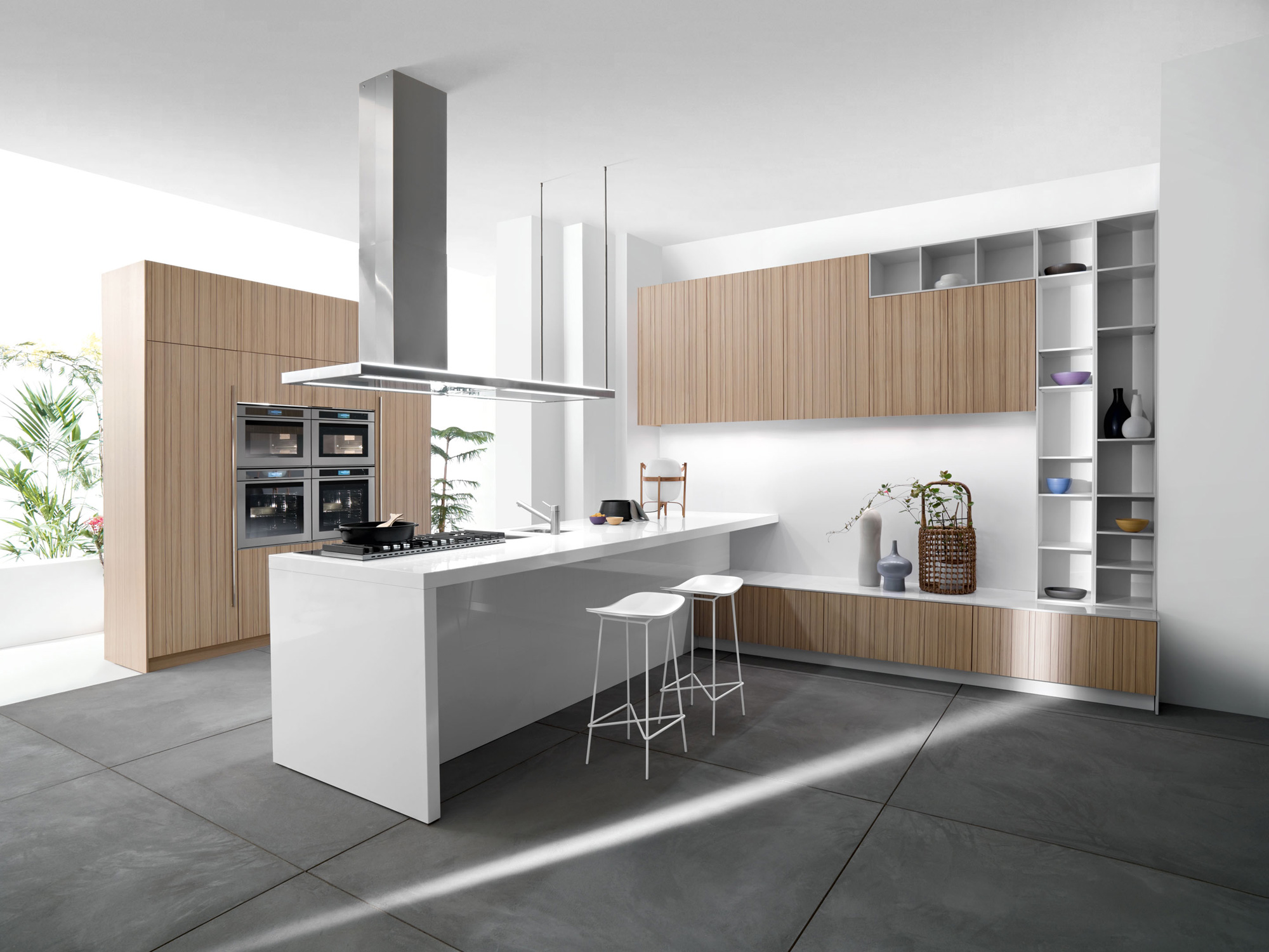 kitchen design ideas 2014 drawer cabinet base white island and wire barstools for modern with wall unit marble flooring