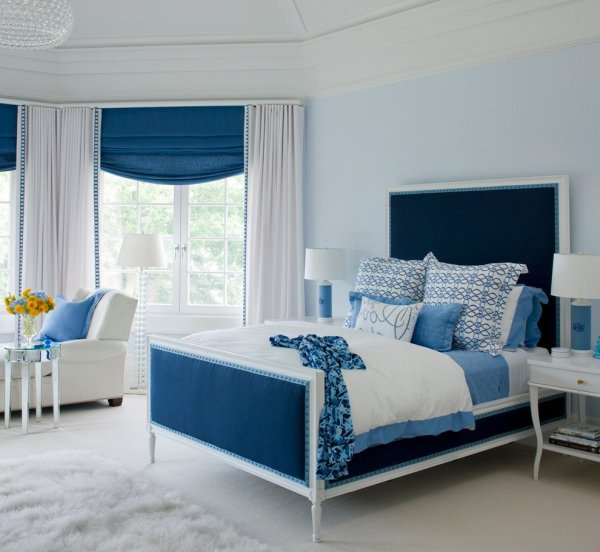 blue interior bedroom designs Your Bedroom Air Conditioning Can Make or Break Your Decor
