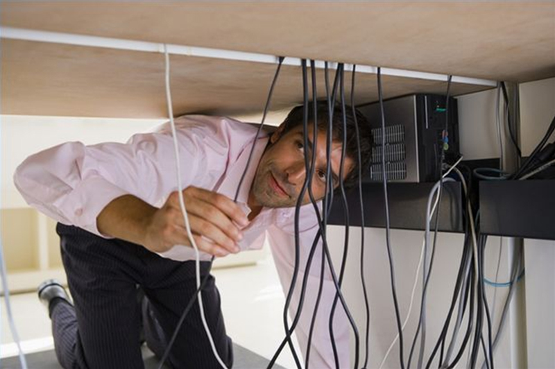 Helpful Tip to Handle Wires In Home  My Decorative