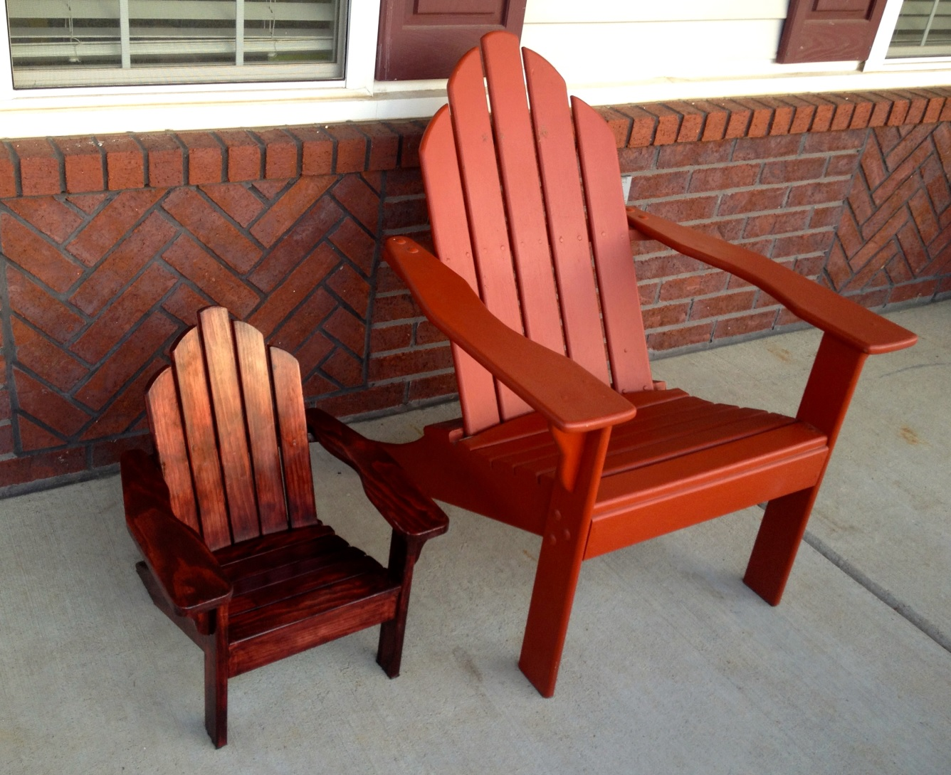 Child Patio Chair Child Adirondack Chair The Best Outdoor Furniture Piece