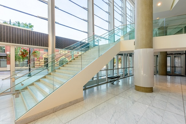 Different Types Of Commercial Staircases My Decorative   Commercial Building Staircase Design   Office   Interior   Edgy   Contemporary   Drawing