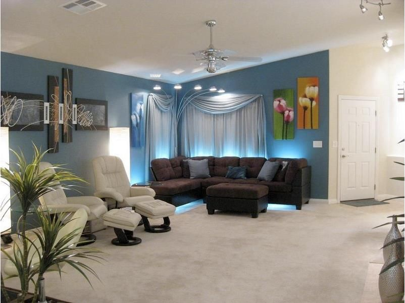 living room led lighting small ideas with sectional sofa key tips on positioning lights in your home for best light place behind couches or chairs of entertainment