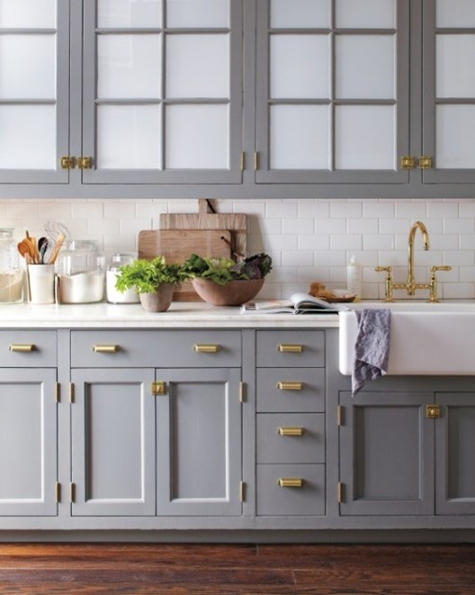There's often more than just screws holding the kitchen cabinets to the wall. Easy Ideas For Cleaning Up A Dated Kitchen Look My Decorative