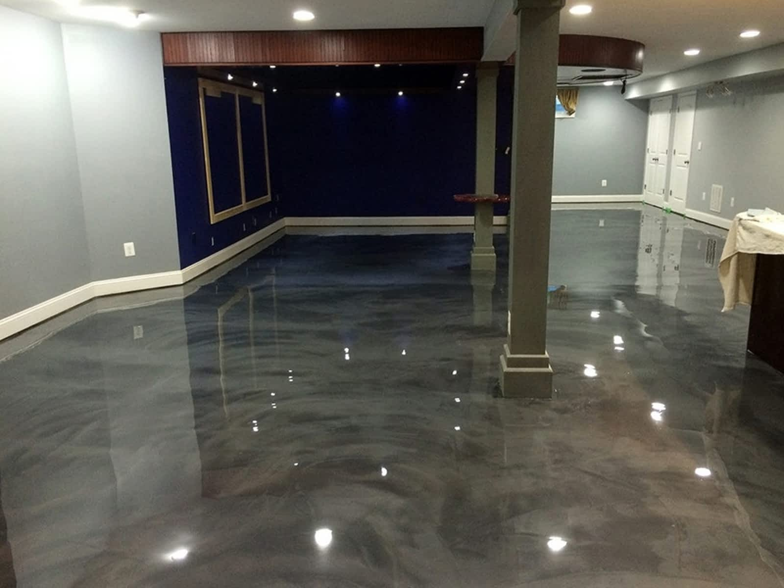 orlando metallic epoxy floors