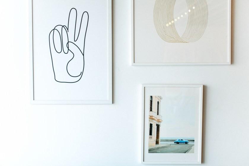 Interior Design Sydney Gallery Wall