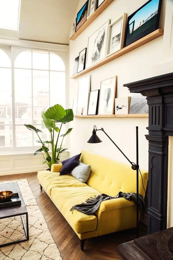 decor idea with accessories                 -couch