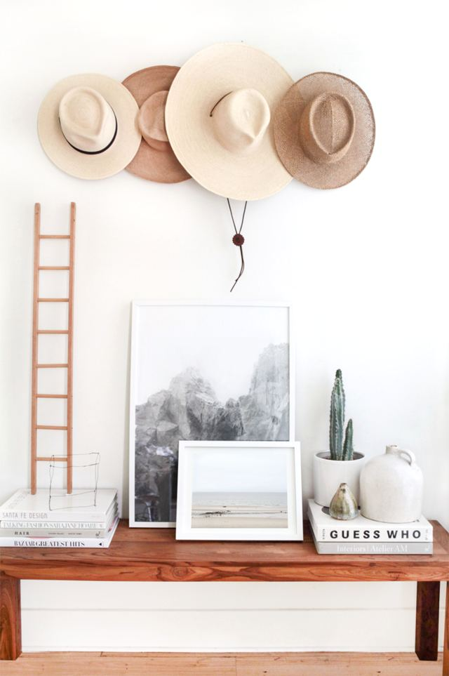 decorate and organize house in a step