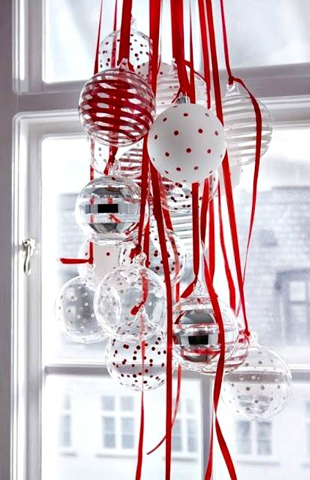 DIY Christmas ornament balls